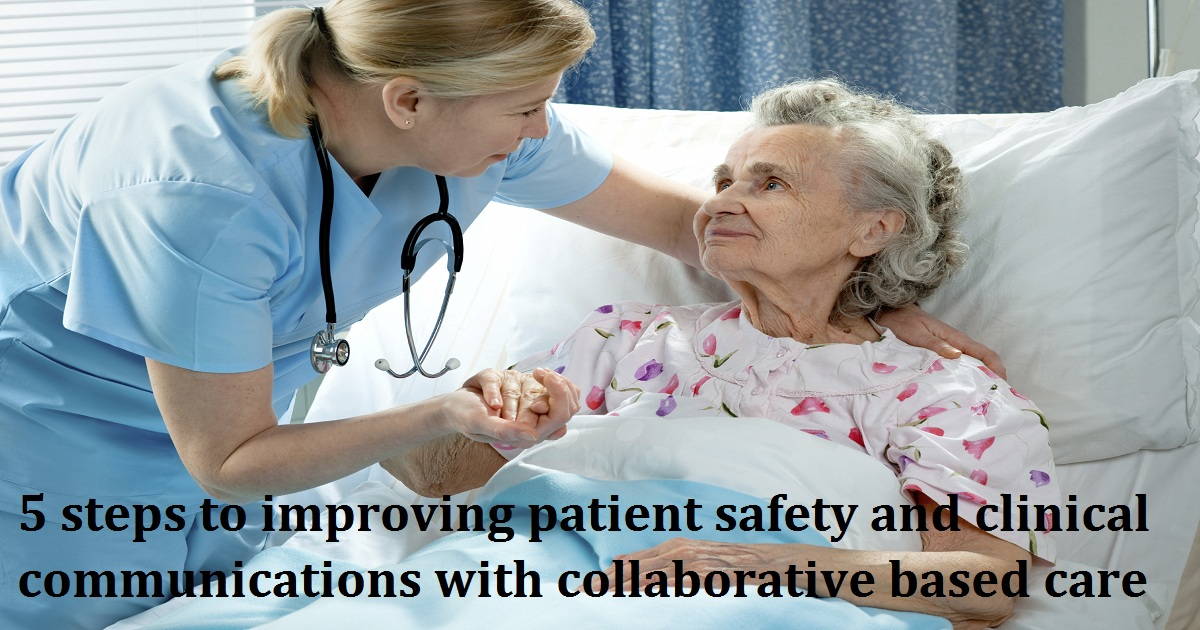 5 steps to improving patient safety and clinical communications with collaborative based care