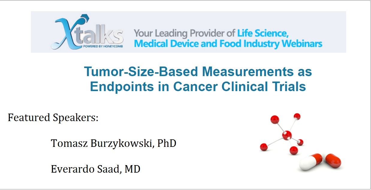 Tumor-Size-Based Measurements as Endpoints in Cancer Clinical Trials