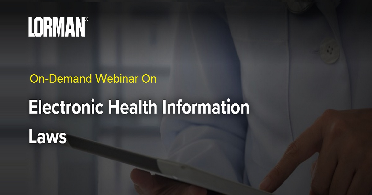 Electronic Health Information Laws