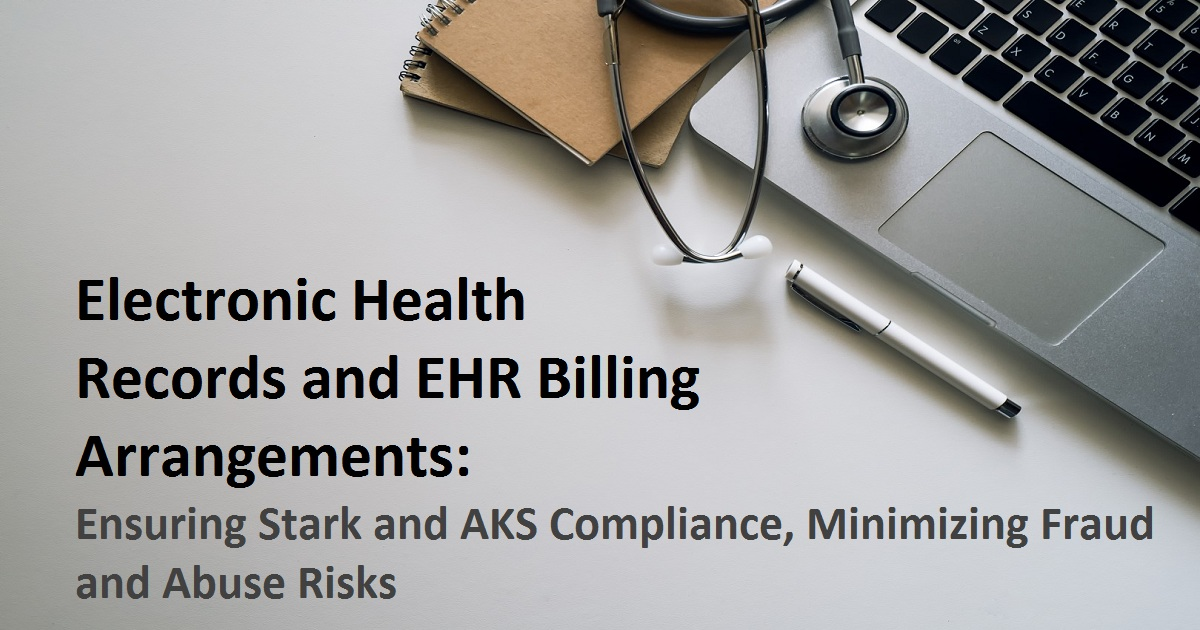Electronic Health Records and EHR Billing Arrangements