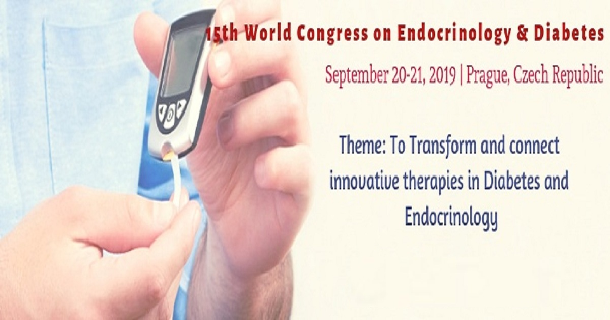 15th World Congress on Endocrinology & Diabetes