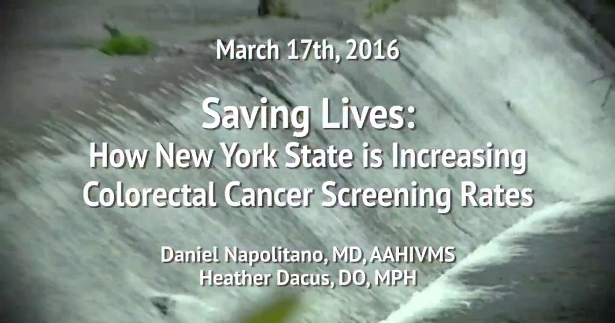 Saving Lives: How New York State is Increasing Colorectal Cancer Screening Rates