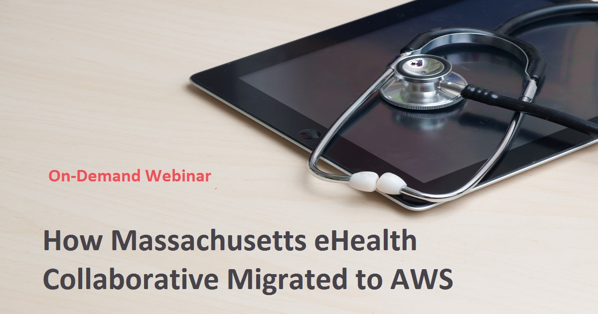 How Massachusetts eHealth Collaborative Migrated to AWS