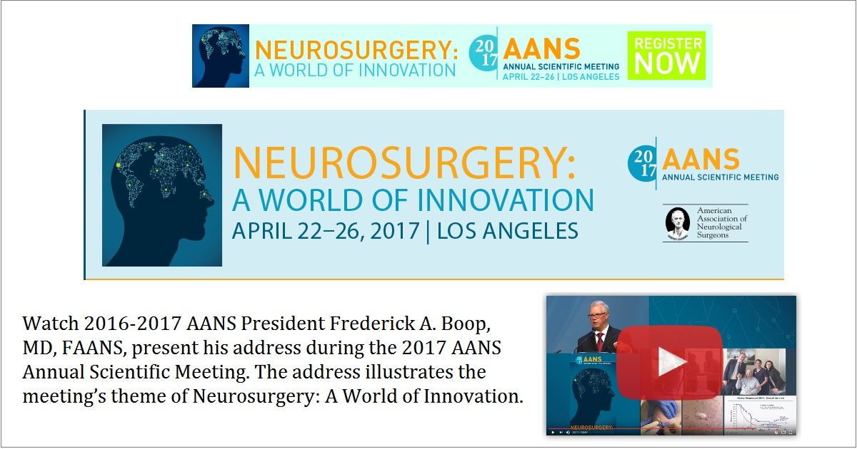 2017 AANS Annual Scientific Meeting