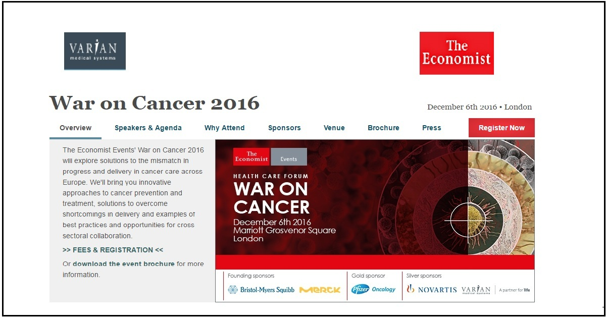War on Cancer 2016