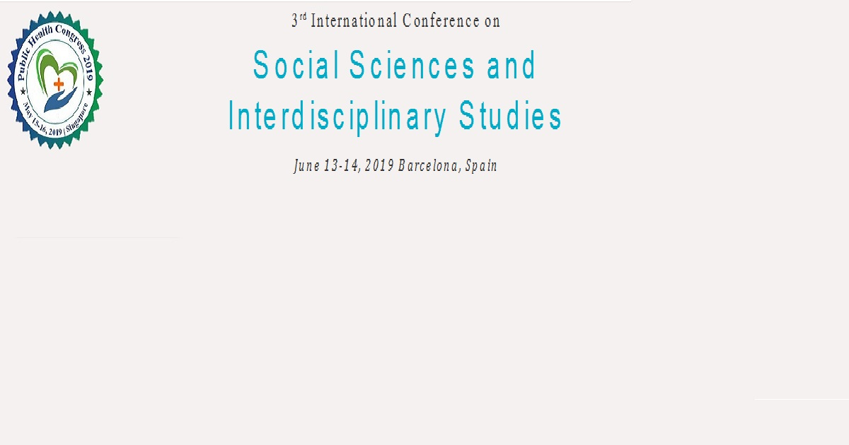 3rd International Conference on Social Sciences and Interdisciplinary Studies