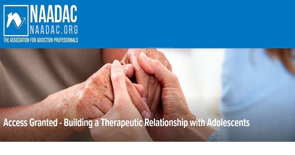 Access Granted - Building a Therapeutic Relationship with Adolescents