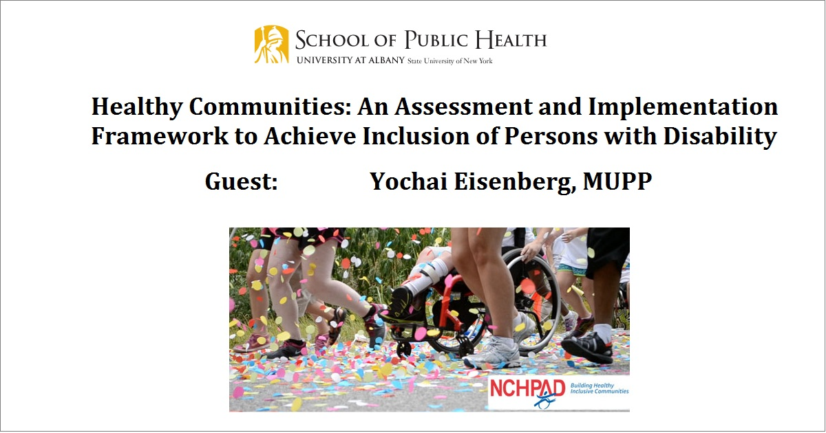 Healthy Communities: An Assessment and Implementation Framework to Achieve Inclusion of Persons with Disability