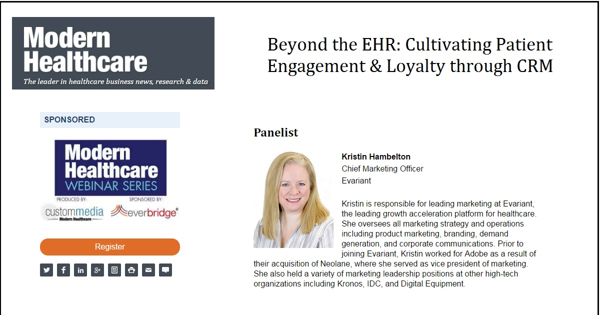 Beyond the EHR: Cultivating Patient Engagement & Loyalty through CRM