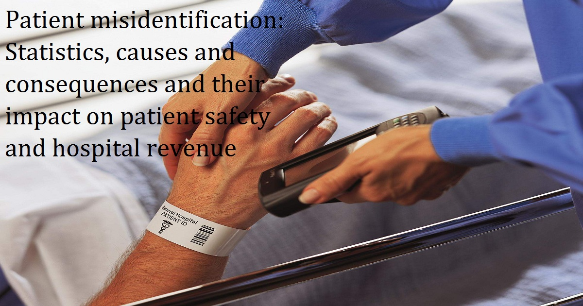 Patient misidentification: Statistics, causes and consequences and their impact on patient safety and hospital revenue