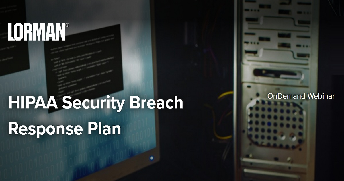 HIPAA Security Breach Response Plan