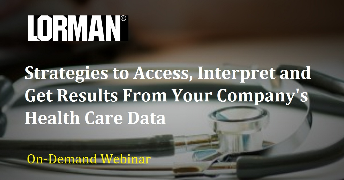 Strategies to Access, Interpret and Get Results From Your Company