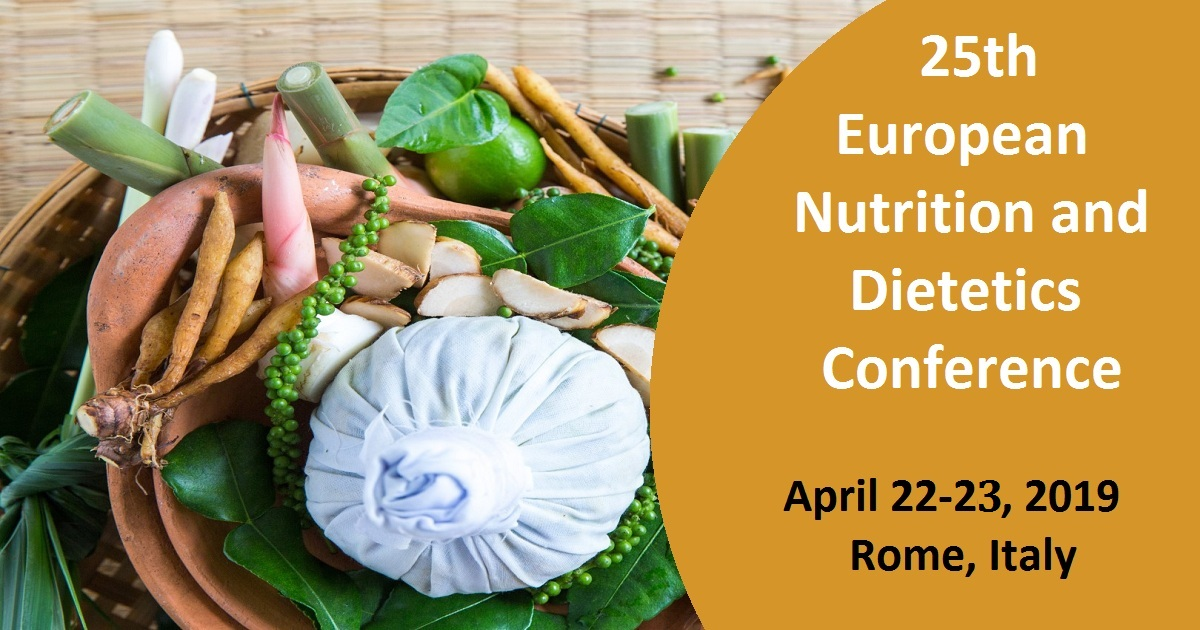 25th European Nutrition and Dietetics Conference