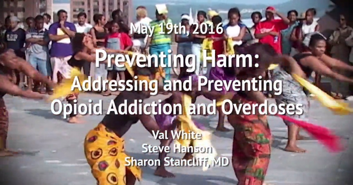Preventing Harm: Addressing and Preventing Opioid Addiction and Overdoses