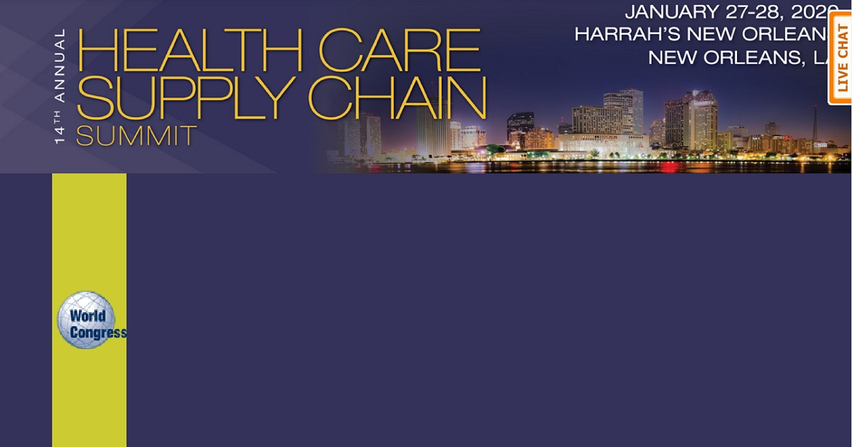 The 14th Annual Health Care Supply Chain Summit