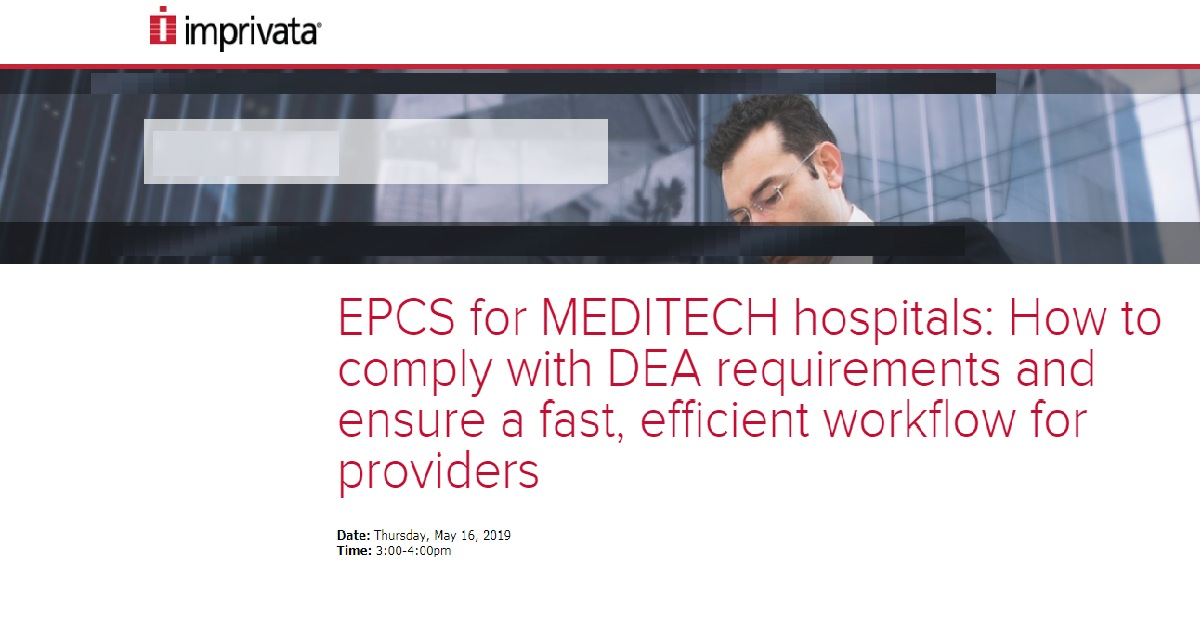 How to comply with DEA requirements and ensure a fast, efficient workflow for providers