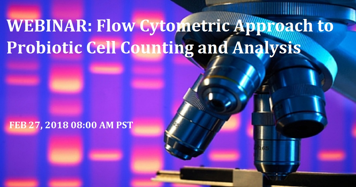 Flow Cytometric Approach to Probiotic Cell Counting and Analysis
