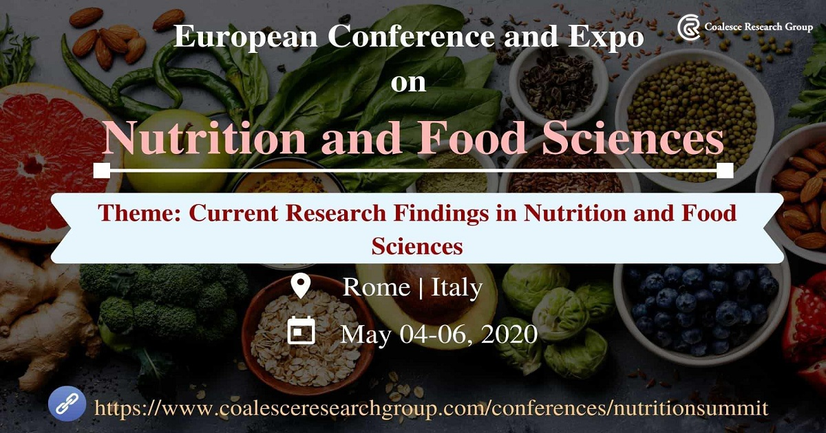 European Conference and Expo on Nutrition & Food Sciences