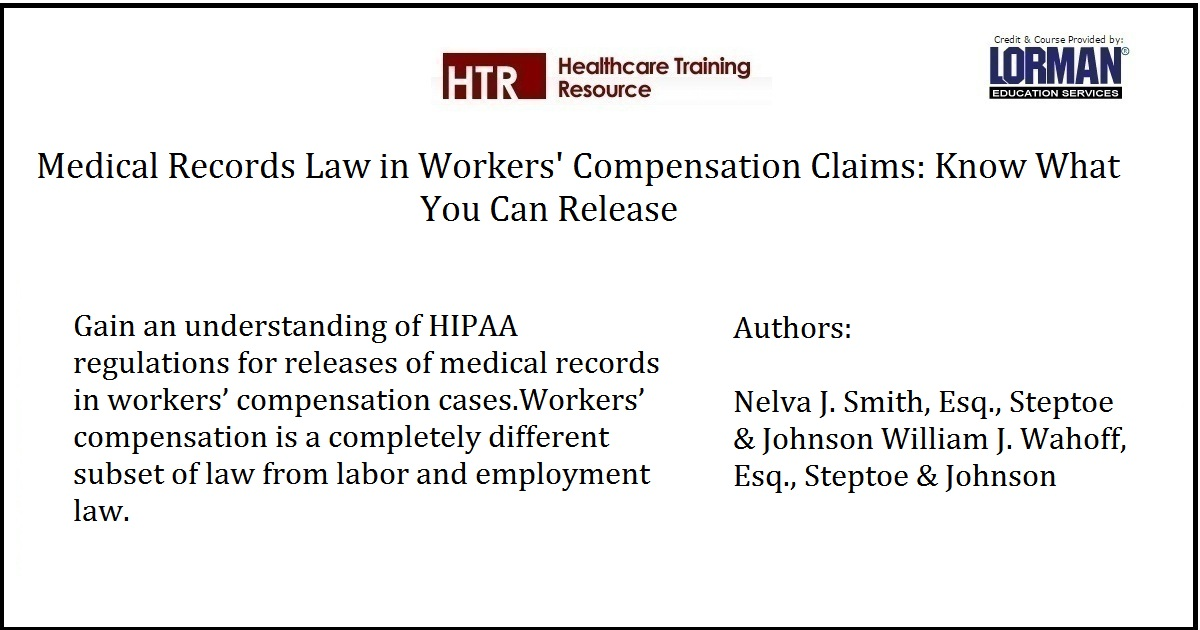 Medical Records Law in Workers