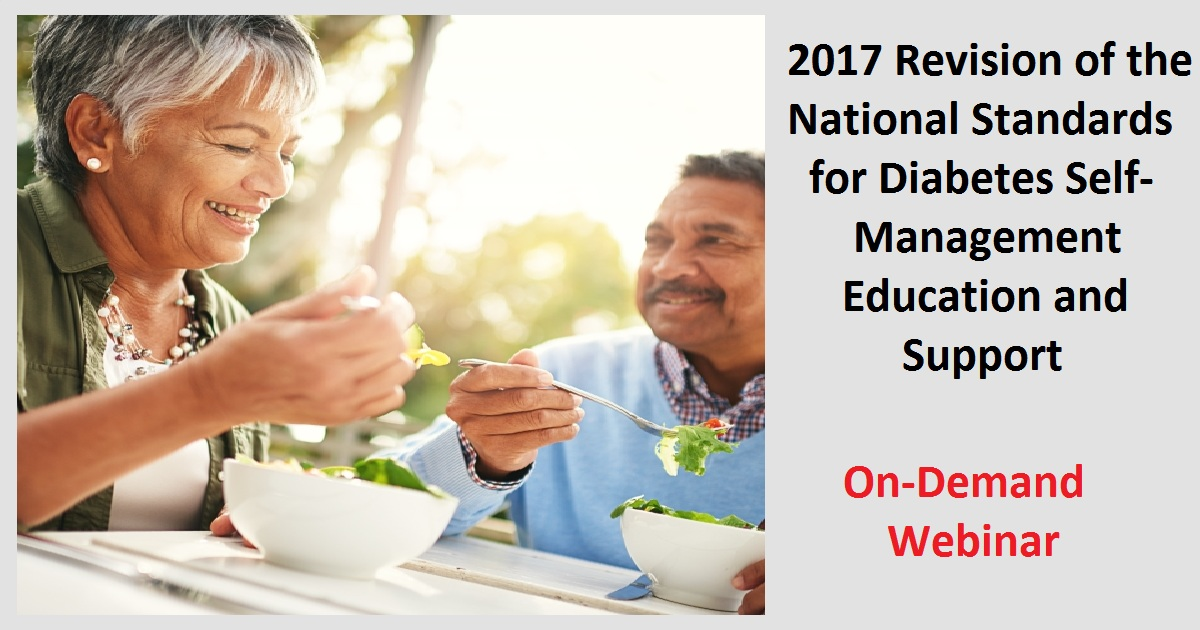2017 Revision of the National Standards for Diabetes Self-Management Education and Support