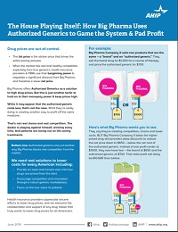 HOW BIG PHARMA USES AUTHORIZED GENERICS TO GAME THE SYSTEM & PAD PROFIT