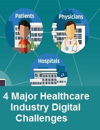 4 MAJOR HEALTHCARE INDUSTRY DIGITAL CHALLENGES