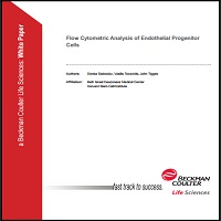 FLOW CYTOMETRIC ANALYSIS OF ENDOTHELIAL PROGENITOR CELLS