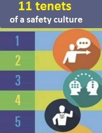 11 TENETS OF A SAFETY CULTURE