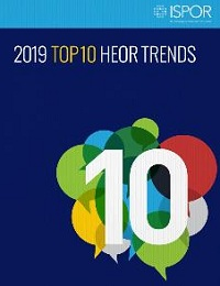 TOP 10 HEALTH ECONOMICS AND OUTCOMES RESEARCH TRENDS